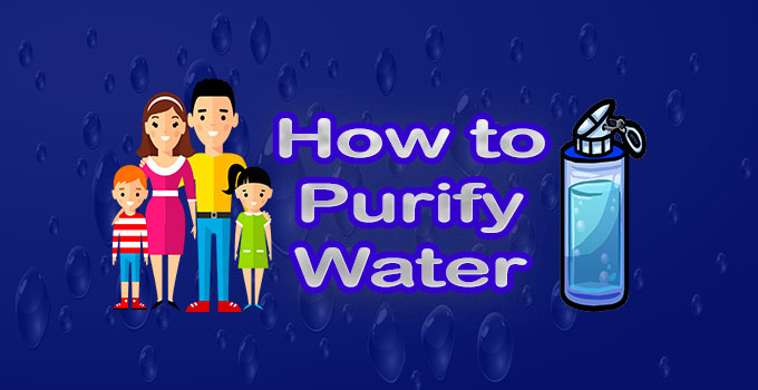 How to filter water